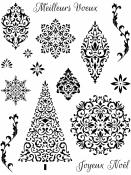 Silikónové pečiatky - Vianoce