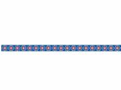 Lepiaca páska (masking tape) vzorovaná 15 mm 10m - ruská modrá