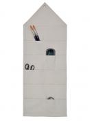 Bavlnený organizér 82 x 32 cm - 24 vrecúšok