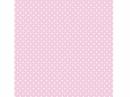Filc 1 mm 30 x 30 vzorovaný - ružový s bodkami