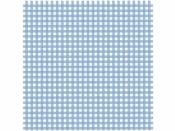 Filc 1 mm 30 x 30 cm modrý károvaný