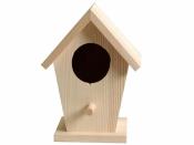 Drevená vtáčia búdka - 14 cm