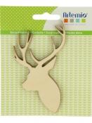 Dýhové výrezy 3 ks - jeleň profil