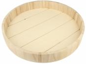 Drevený podnos okrúhly - 35cm