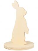 Drevená dekorácia - zajac 22cm