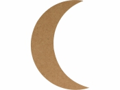 MDF silueta - mesiac 15 cm