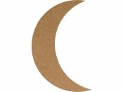 MDF silueta - mesiac 25 cm