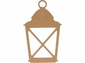 MDF silueta - lampáš 15 cm