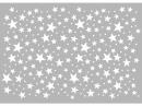 Šablóna 10x15cm - hviezdy
