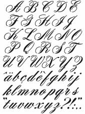 Šablóna A3 - abeceda