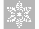 Šablóna 15x15 cm - folk hviezda