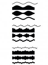 Kreatívne nožnice - 3ks