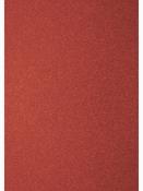 Glitrovaný papier - kartón 200g - červený
