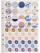 Kreatívne plánovacie nálepky 578ks - fialové