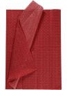 Hodvábny papier 50x70cm - červený s bodkami