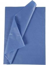 Hodvábny papier 50x70cm - modrý