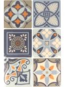 Mozaikové nálepky 6,5 x 6,5cm -12ks