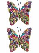 Nálepka - transfer - motýľ