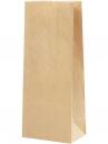 Papierové vrecúško - 24 cm - hnedé