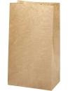 Papierové vrecúško - 27 cm - hnedé
