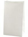Papierové vrecúško - 27 cm - biele
