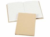 Papierový zápisník A6 riadkovaný