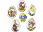 Odlievacia forma na mydlo, sádru, čokoládu - vajíčka