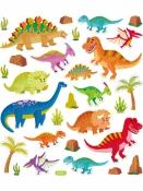 Kreatívne nálepky - dinosaury