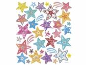 Kreatívne nálepky - hviezdy