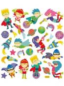 Kreatívne nálepky - superhrdinovia