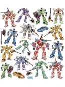 Kreatívne nálepky - transformers