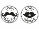 Pečiatka do mydla, sádry -  Monsieur a Madame