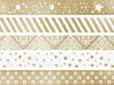 Lepiaca páska (masking tape) zlatá 12mm