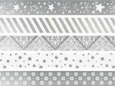 Lepiaca páska (masking tape) strieborná 12mm