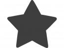 Vysekávačka papiera - hviezda