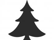 Vysekávačka papiera - stromček