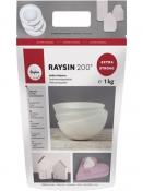 Odlievací prášok Raysin 200 - 1kg - biely - extra jemný