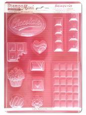 Odlievacia forma - čokoláda