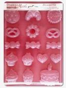 Odlievacia forma - koláčiky