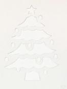 3D šablóna A5 - stromček