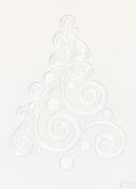 3D šablóna A5 - stromček vlnka