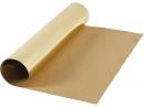 Metalický kožený papier 49x100cm - zlatý