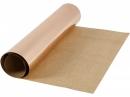 Metalický kožený papier 49x100cm - medený