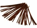 Žinilkový drôt 6 mm - hnedý - 50ks