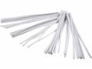 Žinilkový drôt 6 mm - biely - 50ks