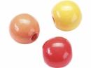 Drevené korálky 8 mm mix - 85 ks - oranžovo-červené