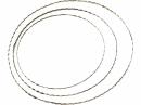 Kovový kruh vrúbkovaný - základ - 20cm
