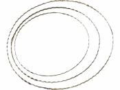 Kovový kruh vrúbkovaný - základ - 30cm