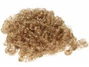 Vlasy na bábiku - kučeravé 14g - svetlé hnedé