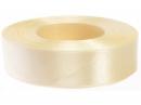 Saténová stuha - 25mm - maslová